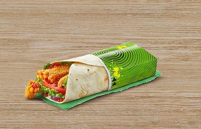 McDonald's Veggie Wrap