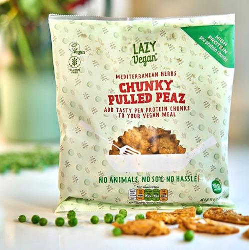 lazy vegan food product