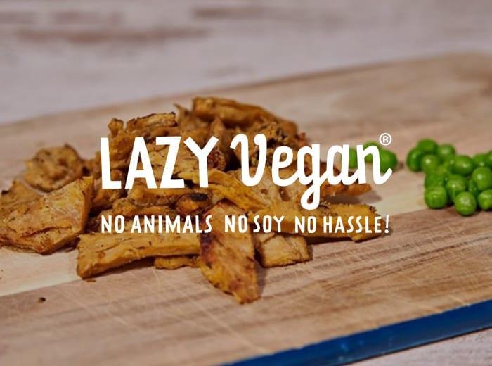 lazy vegan brand
