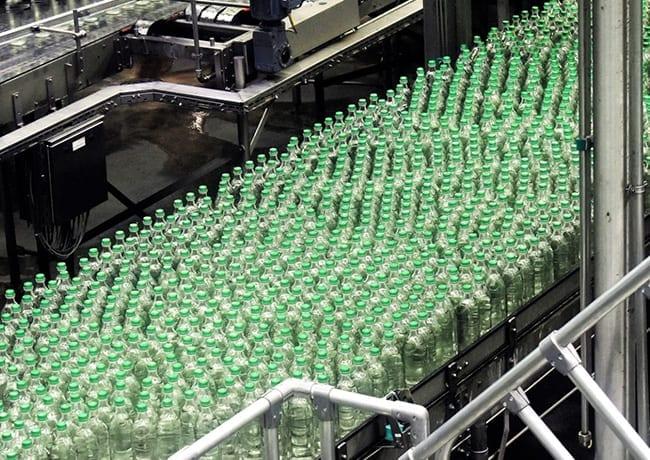 manufacturing process bottles