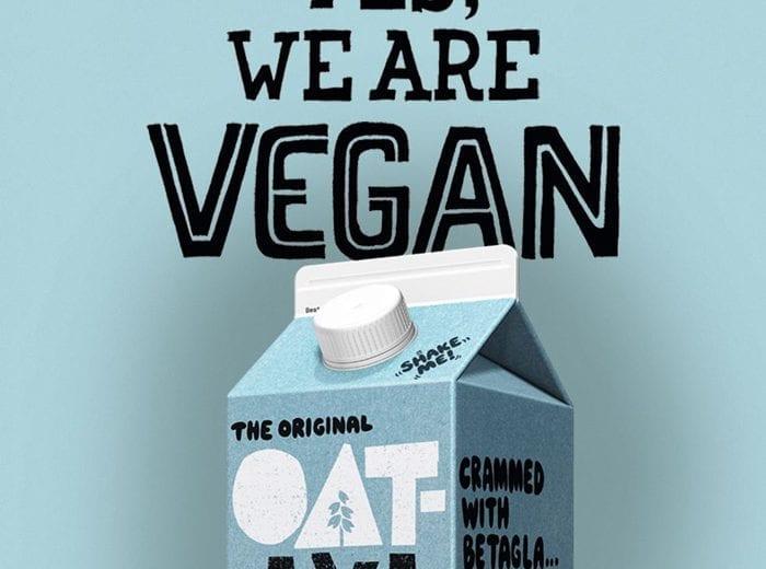 oatly marketing poster