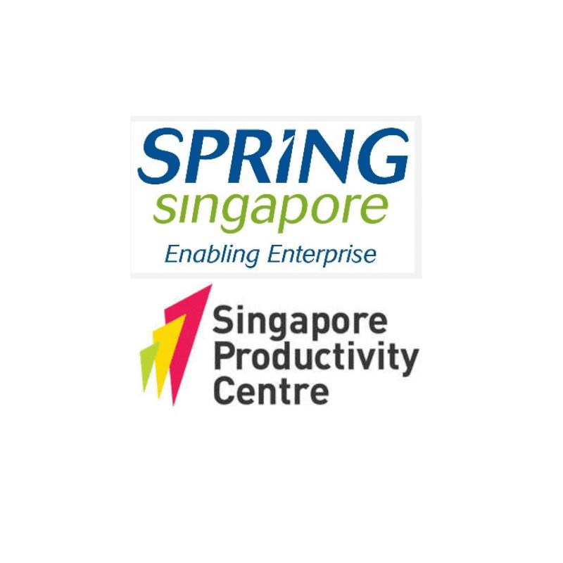 Singapore Productivity Centre & Spring Singapore logo