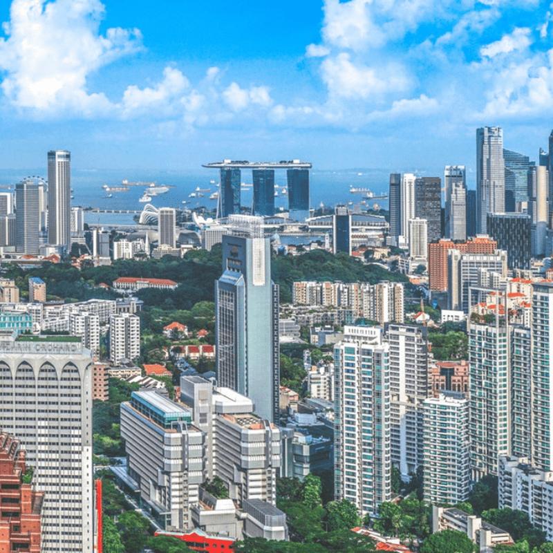 Singapore landscape city