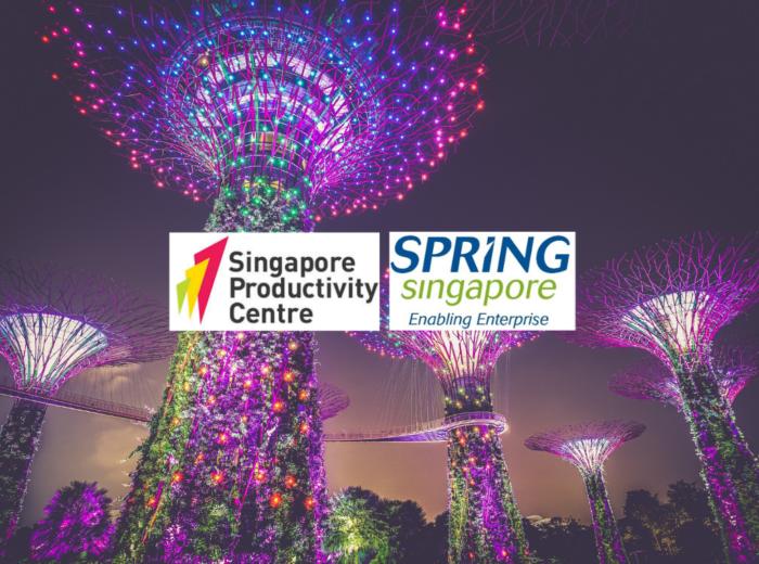 singapore productivity centre and spring singapore logos
