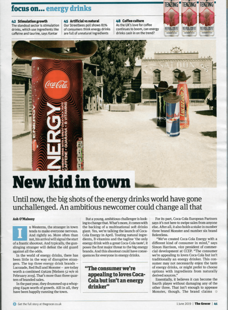 new kid in town press article