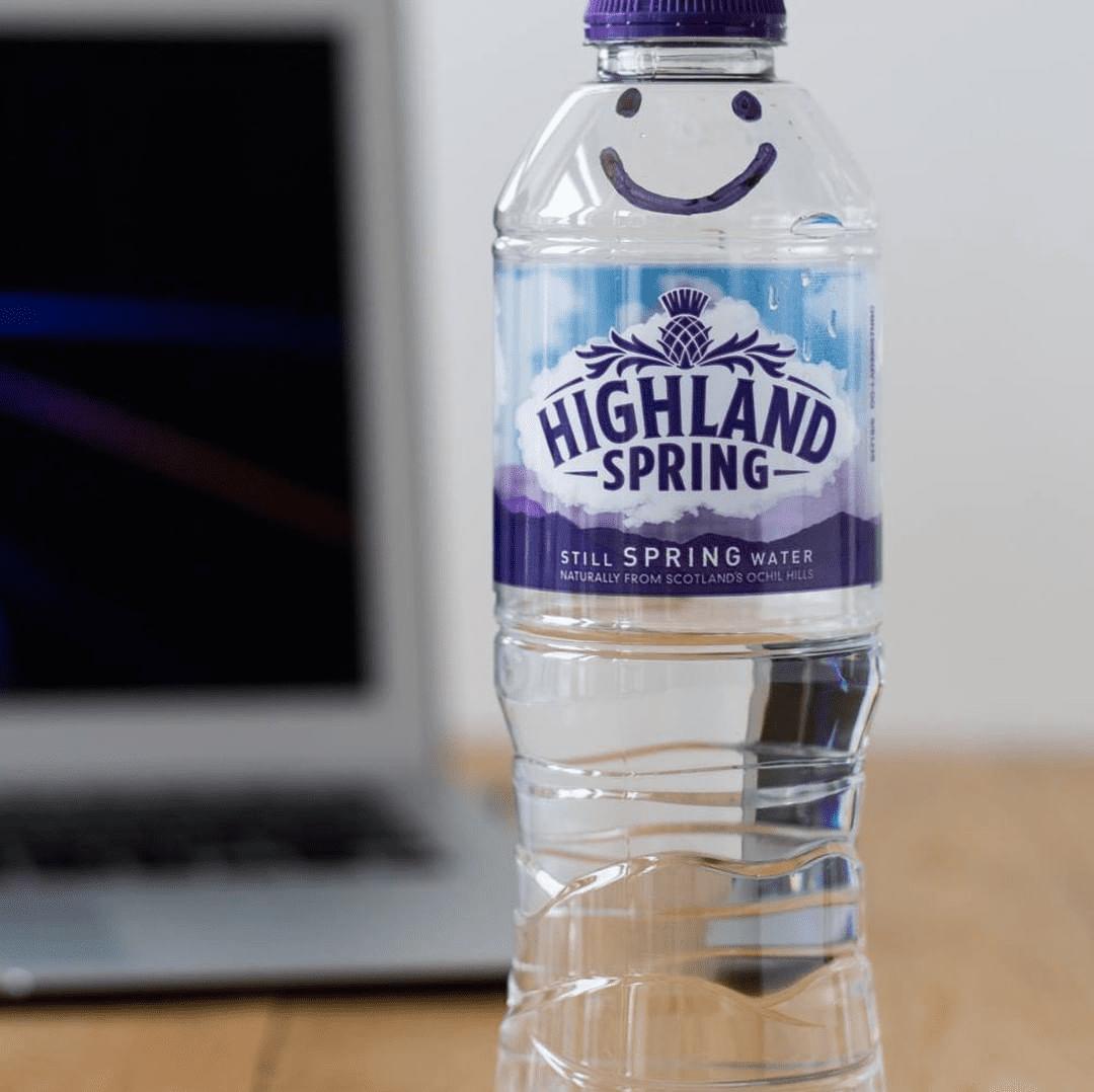 Highland Spring water