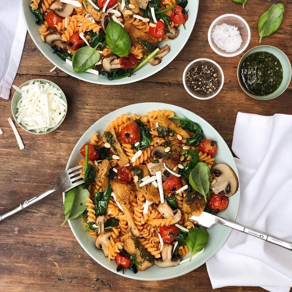 Lazy Vegan food in bowl