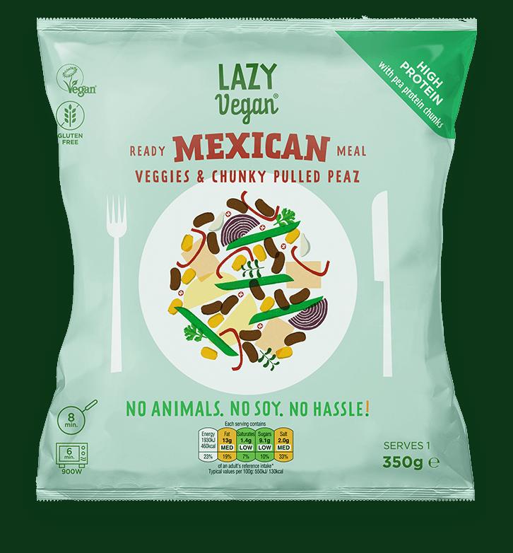 Lazy Vegan Mexican produce