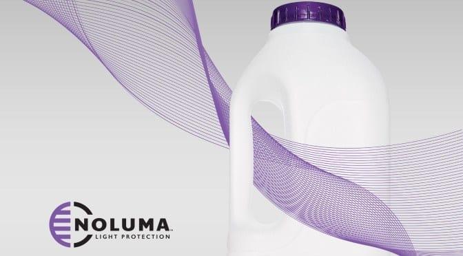 Noluma logo and bottle