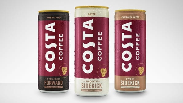 costa coffee small cans