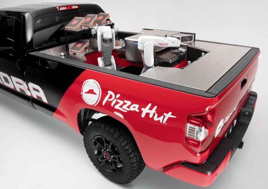 pizza hut pick up track