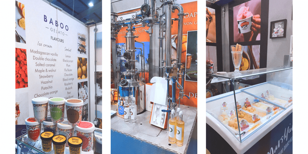 sweet treats at Exeter trade show