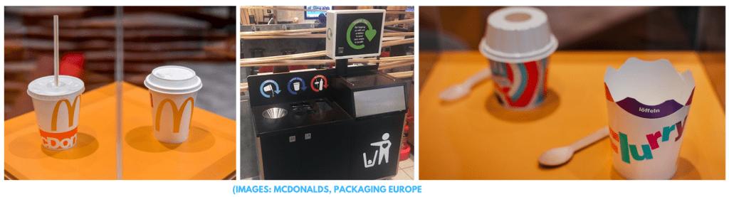 fast food packaging waste mcdonalds