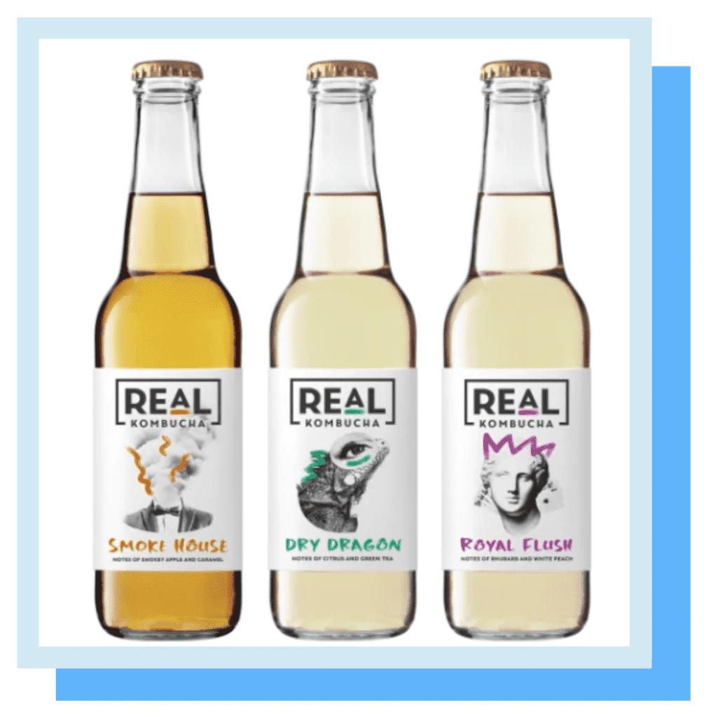 Real Kombucha drinks marketing campaign