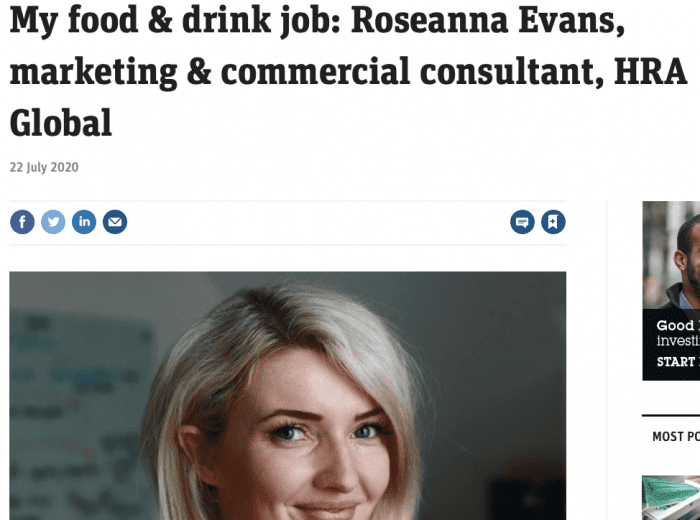 Roseanna Interview The Grocer