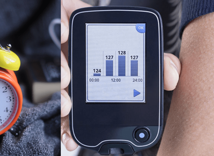 device monitoring glucose fasting