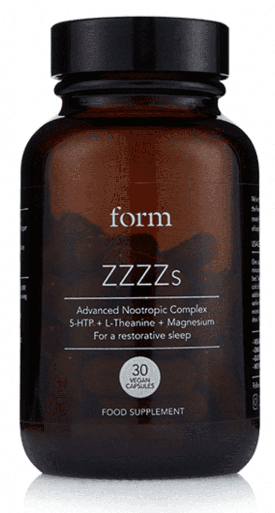 form nootropic food supplement bottle