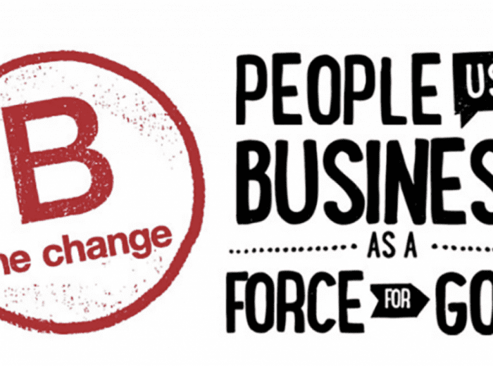 bcorp business poster