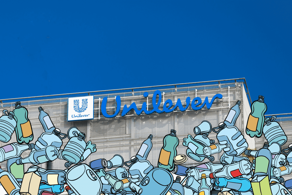 unilever sign and household products