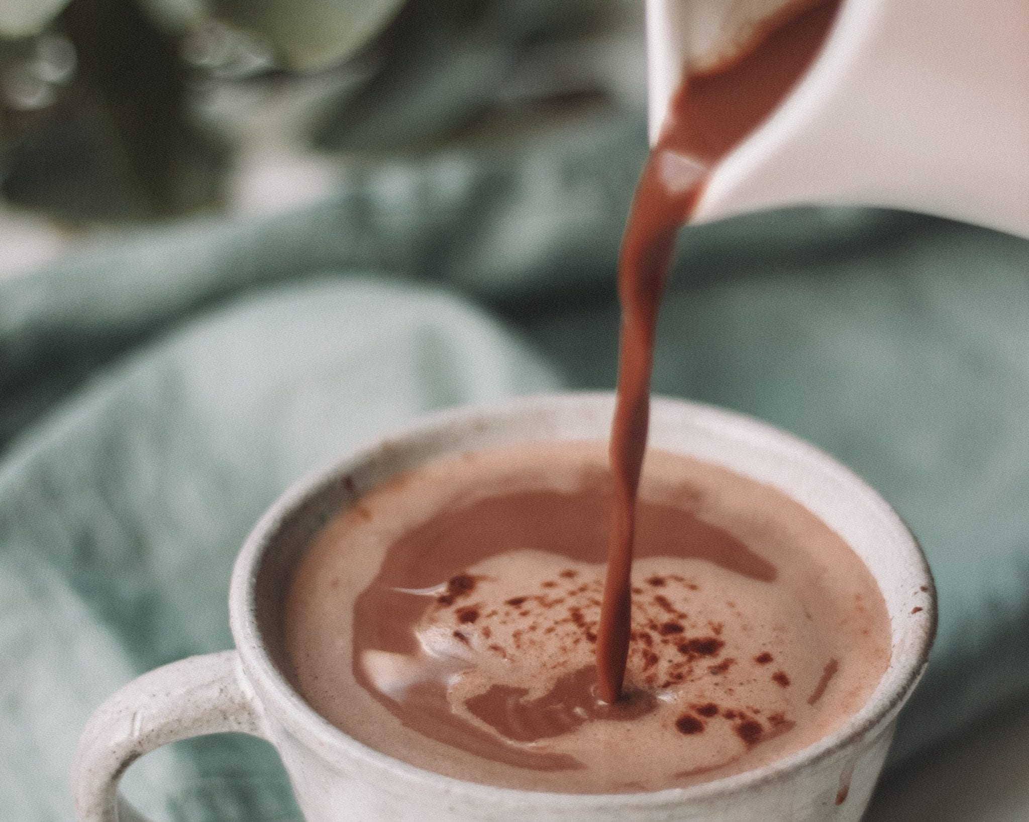 food thoughts hot chocolate